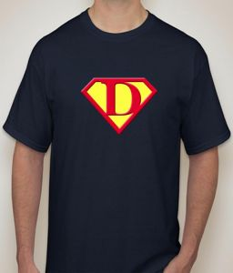 Superman - D Navy T-shirt For Men - ( Code -p0078101853 )