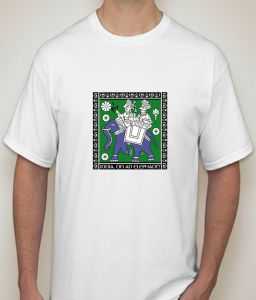 Indian Culture White T-shirt For Men - ( Code -p0080400453 )