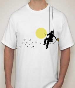 Moon White T-shirt For Men - ( Code -p0080900453 )