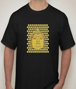 Buddha Black T-shirt For Men - ( Code -p0081000553 )
