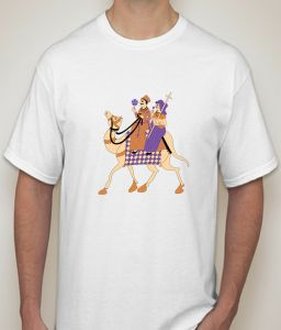 Camel White T-shirt For Men - ( Code -p0081100453 )