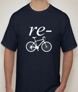 Recycle Navy T-shirt For Men - ( Code -p0081401853 )