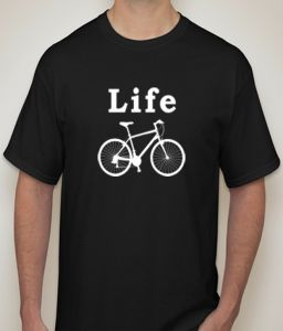 Life Cycle Black T-shirt For Men - ( Code -p0084600553 )