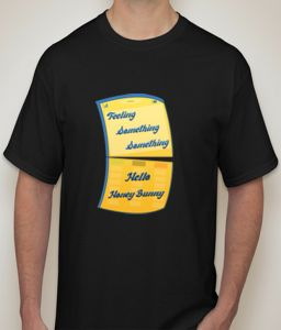 Something Something Black T-shirt For Men - ( Code -p0093500553 )