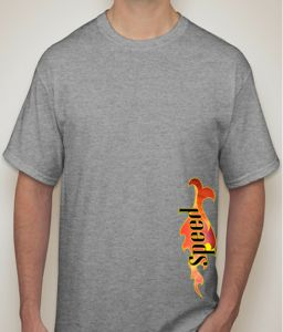 Speed Grey T-shirt For Men - ( Code -p0097500453 )