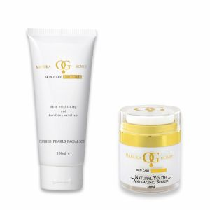 Personal Care & Beauty - Oceanic Gold Ocean Facial Scrub with Crushed Pearls & Natural Youth Anti Ageing