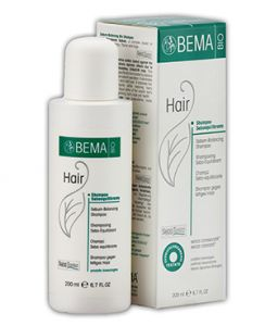 Bema Sebum-balancing Bio Shampoo (made In Italy)200 Ml