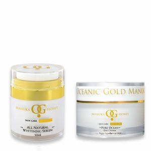 Oceanic Gold All Natural Whitening Serum & Rich Mineral Night Cream