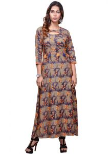 Vedika Creations Indian Designer Top Tunic Kurti Kurta (code- Vcduwcktt -100)
