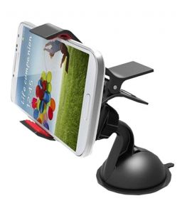 Favourite Bikerz Car Mobile Holder With 360 Degree Rotating - (code -cmh Bk 04)