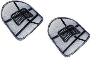 Autostark Car/home/office Seat Massager Back Support Vehicle Seating Pad (pack Of 2)