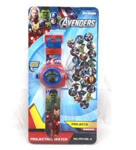 6th Dimensions Avengers 24 Image Projector Watch
