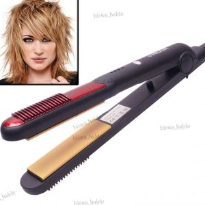 Professional Ceramic Nova Electric Iron Automatic Beauty Care Hair Straightener-02