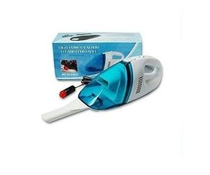 Carsaaz 12v Portable Car Vacuum Cleaner (white And Blue)