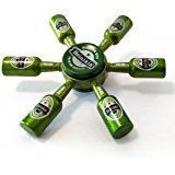 Totu Beer Bar Fidget Spinner Beers New 6 Bottle Zinc Alloy Hand Spinner Metal Finger Stress