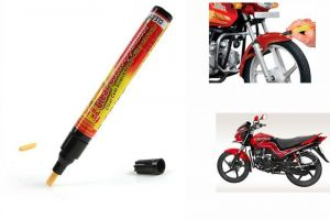Spidy Moto Auto Smart Coat Paint Scratch Repair Remover Touch Up Pen For Hero Motocorp Passion Pro