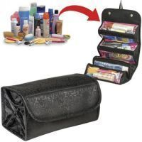 Portable Roll N Go Travel Buddy Cosmetic Bag