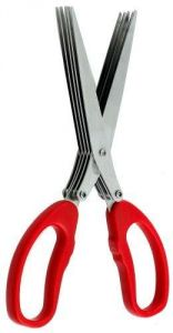 Harold Imports Stainless-steel Multi-blade Herb Scissors
