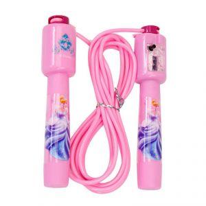 Disney Princess Countable Jump Rope - Pink