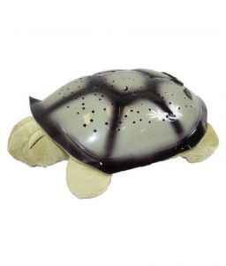 Greggs Gray Turtle Twilight LED Star Projector Night Lamp
