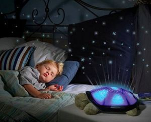 Omrd Sea Turtle Night Light Star Constellation LED Child Sleeping Projector