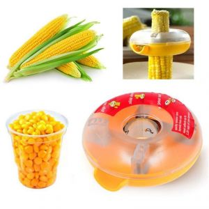 Fat-lady Corn Kerneler - 1pcs - Yellow
