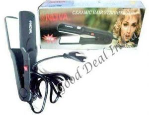 Nova Ceramic Hair Straightener Nhc-522 Crm