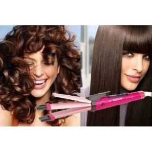 Hair Care - Nova Professional 2 In 1 Hair Straightener & Curle
