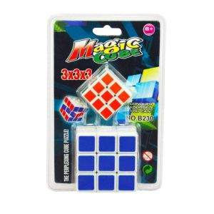 2 In 1 Magic Cube 3x3x3 Sticker Less Rubik