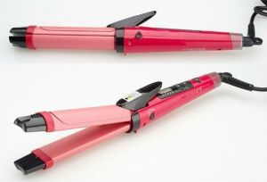 Combo Of Nova Professional 2 In 1 Hair Curler & Hair Straightener Women E