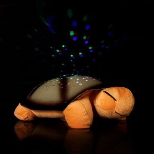 Kawachi Home Decor & Furnishing - Creative Gift Turtle LED Night Light Stars Projector For Children Baby Lamp