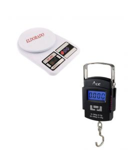 Kitchen Weighing Scale 1g To 10kg With 50kg Digital Weighing Scale