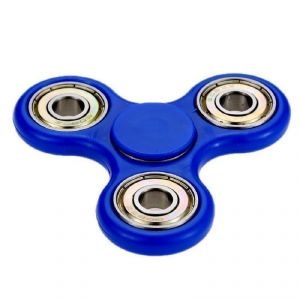 Hand Fidget Spinner Toy - Dark Blue By Flintstop