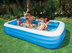 Stylish Intex Large Swim Centre Family Pool Intex 58484