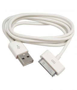 Ubon Micro USB Charger 30 Pin Lightening Cable For Apple iPhone 4 4s