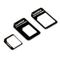 Nano To Micro / Standard Sim Card Adapter For iPhone 5 4 4s Sumsung Galaxy