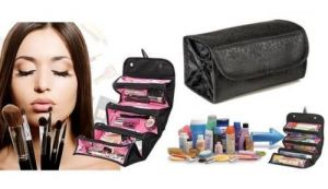 Baga Roll-n-go Cosmetic Bag 4 Compartment Compact Shaped