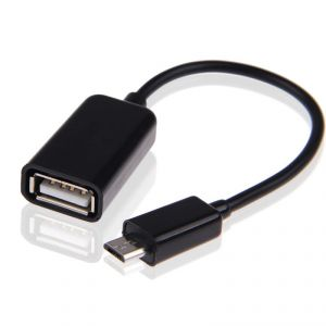 Universal Micro USB Male To USB Female Otg Host Cable Adapter For Htc Cell