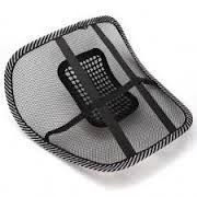 Autosun-car Seat Massage Chair Back Lumbar Support Mesh Ventilate Cushion P