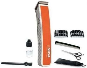 Nova Advanced Skin Friendly Precision Nht 217 O Trimmer For Men