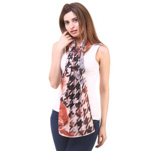 Hive91 Women Scarf In Multi Color Poly Cotton Size (code - Rh02scmc)