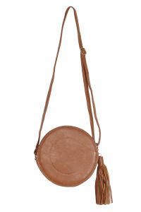 Snob Bee Brown Sling Bag For Women (code - 13571d406igh-brown)