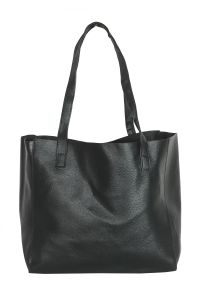 Snob Bee Black Tote Bag For Women (code - 13571d415igh-black)