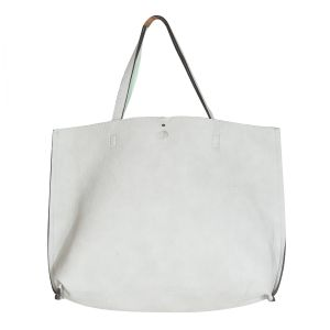 Snob Bee Mint White Tote Bag For Women (code - 17291d449igh-white)