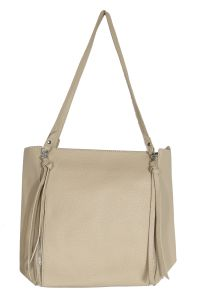 Snob Bee Beige Tote Bag For Women (code - 19681d455igh-beige)