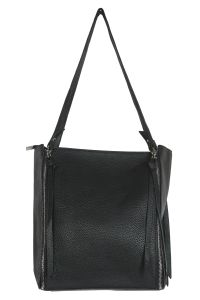 Snob Bee Black Tote Bag For Women (code - 19681d455igh-black)