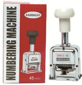 Bambalio 15 Digit Numbering Machine BAM-45-15