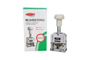 Bambalio Bam-607 6 Digits Big Characters Numbering Machine