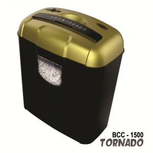 Bambalio 6 Sheets Cross Cut Credit Card/ Cd/dvd/paper Shredder 2 Years Warranty Bcc-1500 (gold)