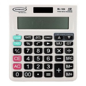 Bambalio 12 Digits Gst Enabled Tax Calculator